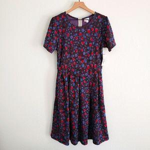 LuLaRoe Amelia Dress Floral NWT Size XL